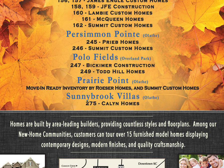 Prime Development Fall Parade of Homes Entries